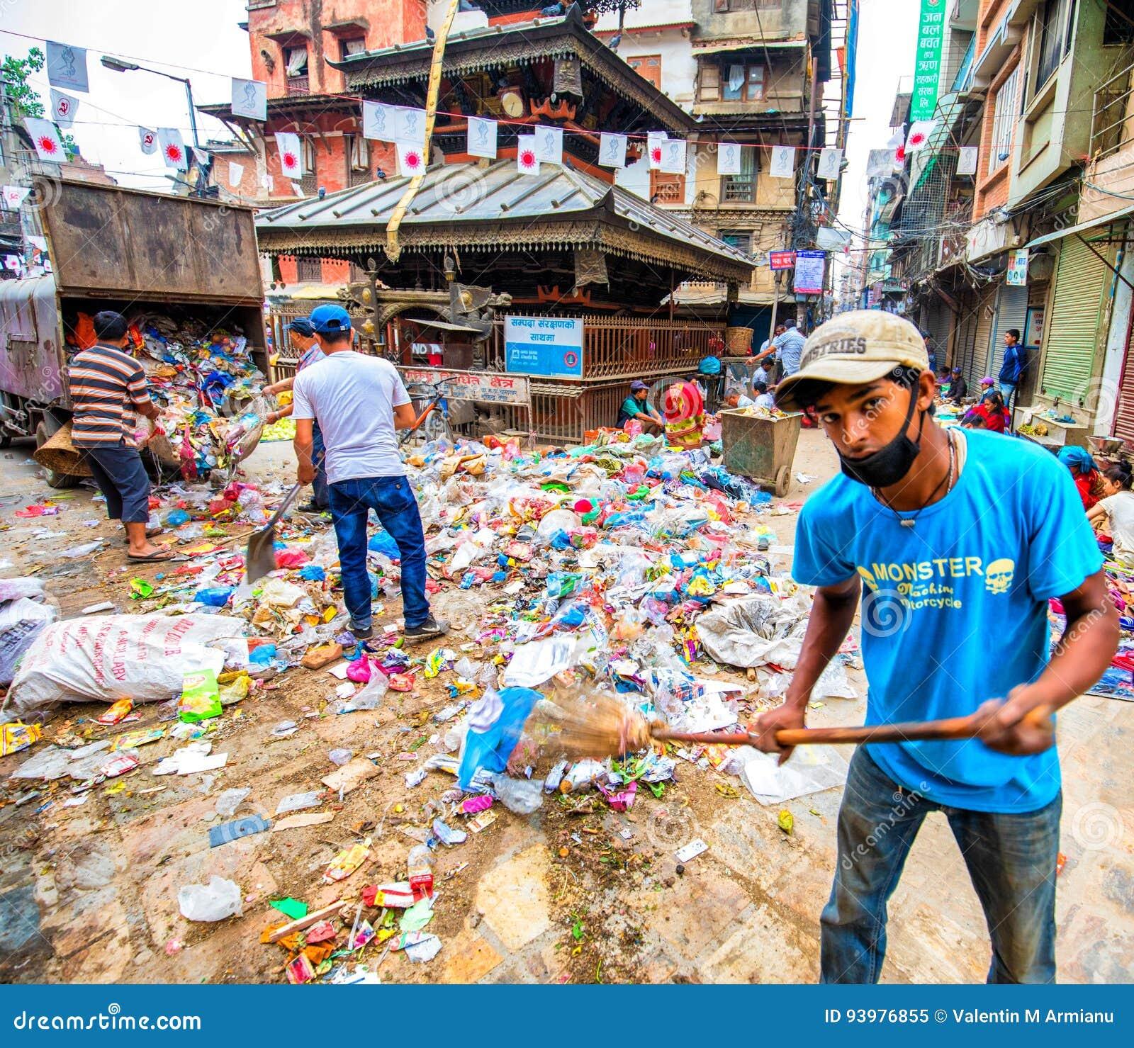 Avskräde i staden