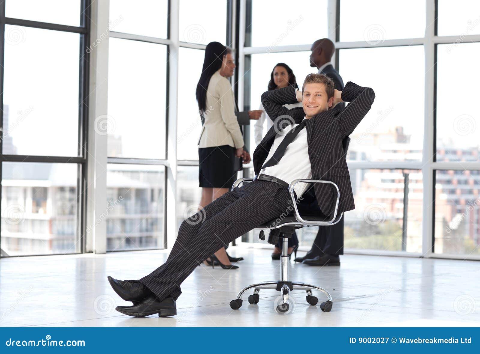 Avslappnande lag för bakgrundschefkontor