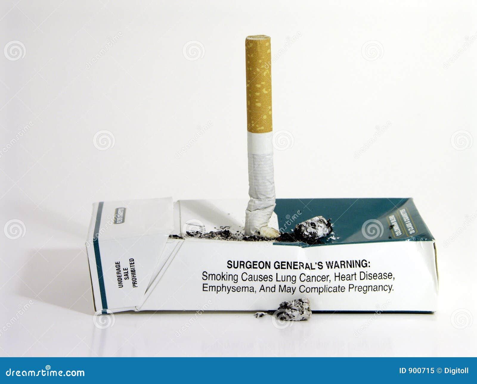 Avslutad rökning