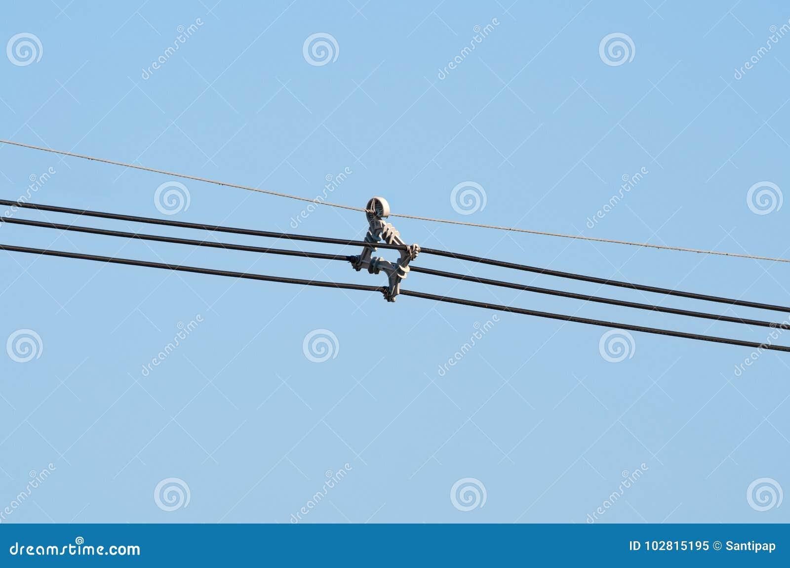Avståndsmätaresystem för flyg- kabel