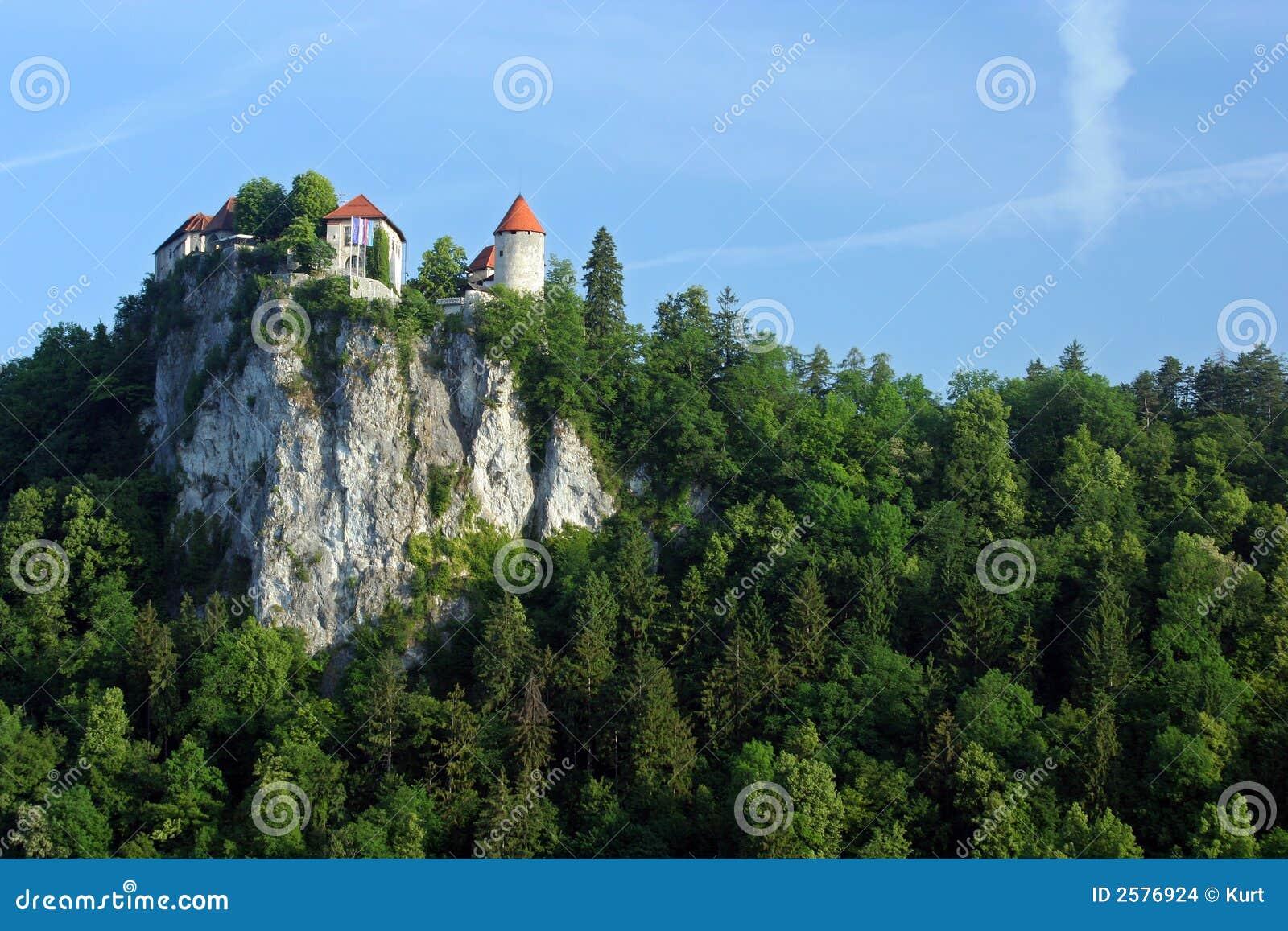 Avtappat slott