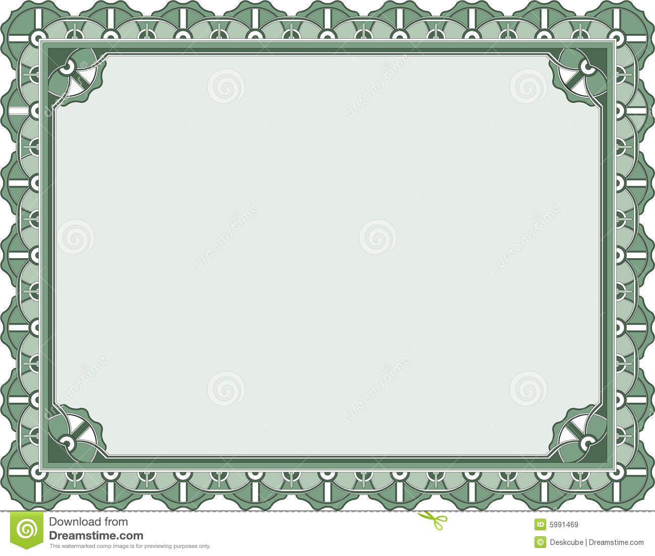 Award Certificate Template Royalty Free Stock Images - Image: 5991469