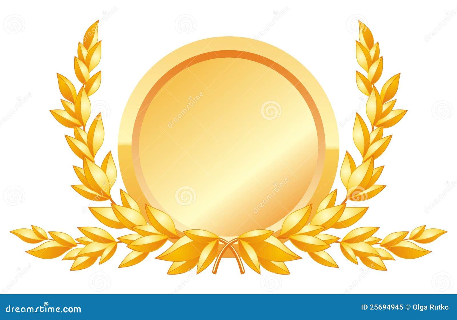 Award decoration stock vector illustration of branch for Award decoration