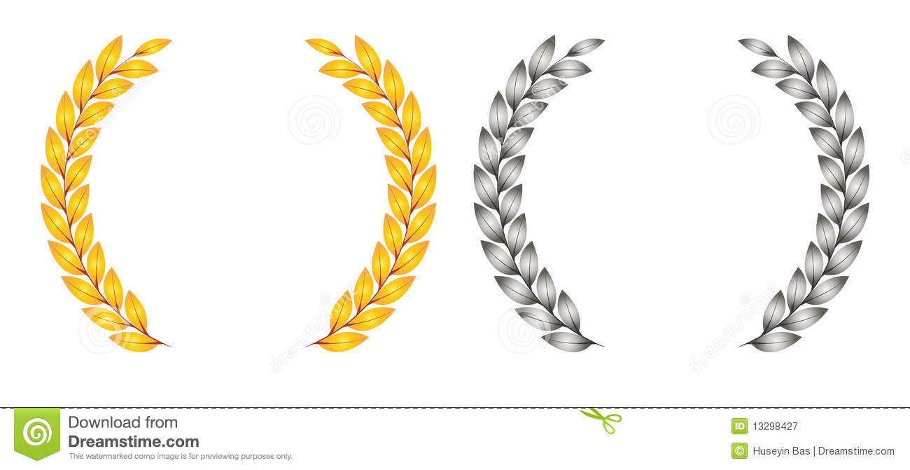 Award Leaf Symbol Stock Vector Illustration Of Design 13298427