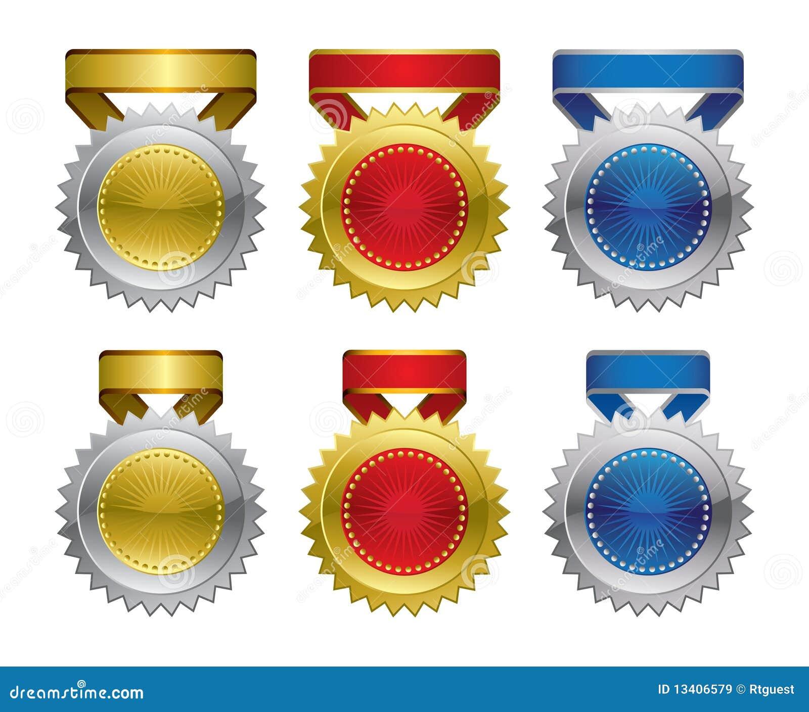 Award Medals Cartoon Vector | CartoonDealer.com #84708911