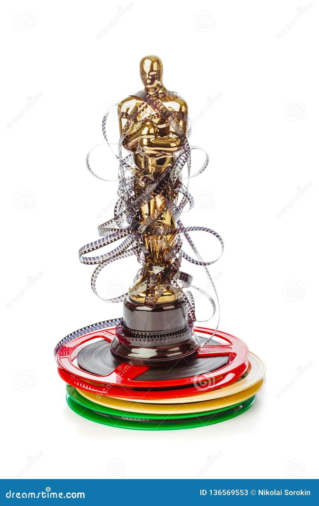 Award of Oscar ceremony and cinema film