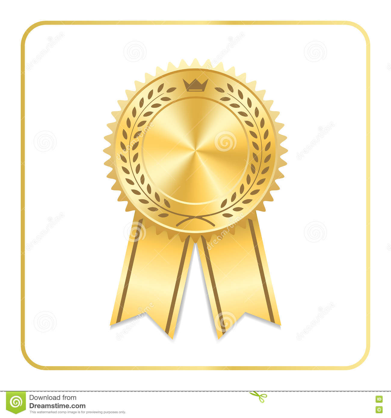 award ribbon icon vector rounded award badge with red ribbon vector. Black Bedroom Furniture Sets. Home Design Ideas