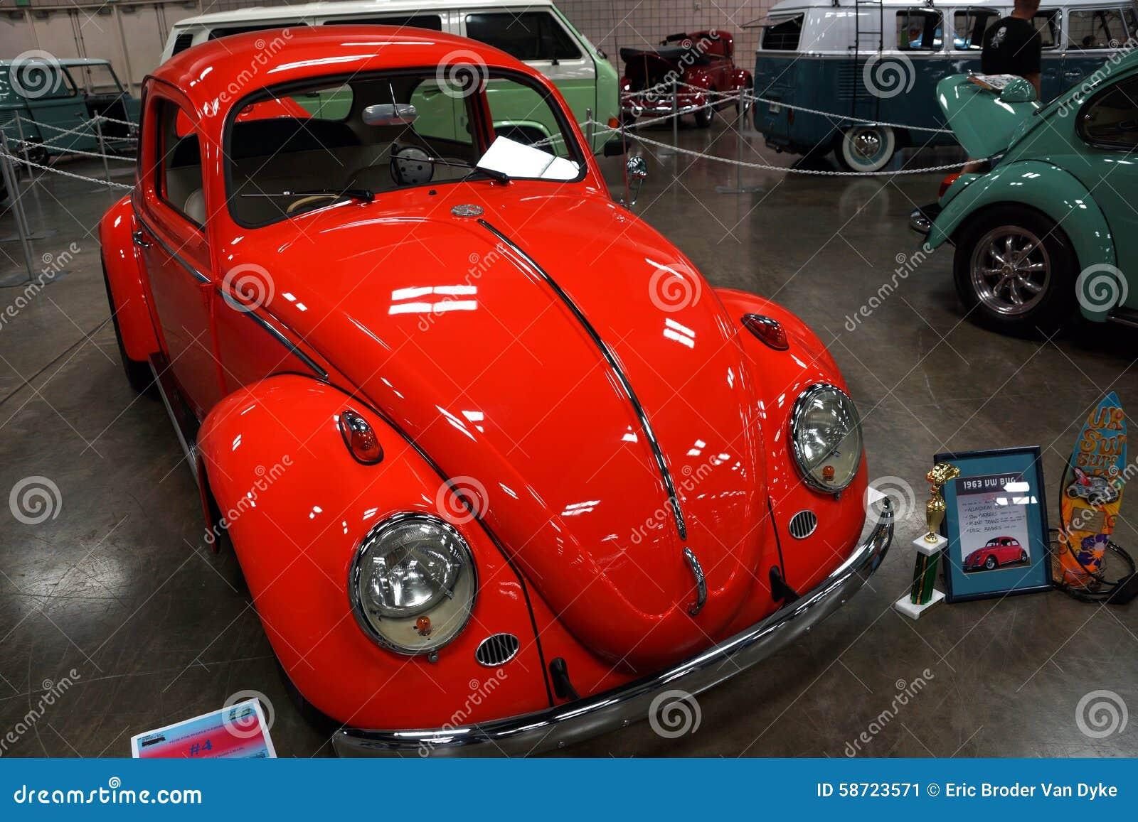 Award Winning VW Bug On Display At Car Show Editorial Photo - Car show hawaii