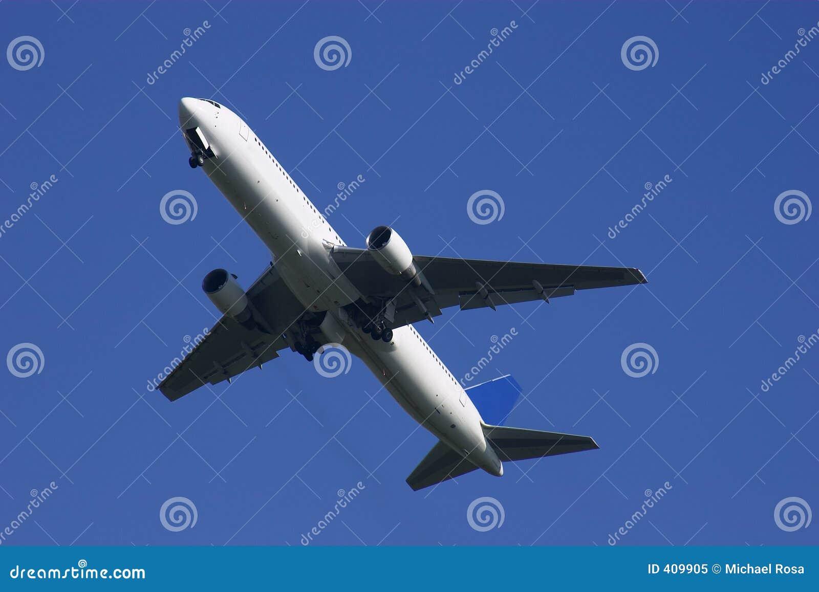 Away boeing klättring för 767