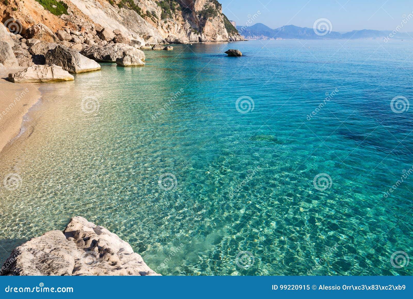 Cala Goloritze beach, Sardinia, Italy