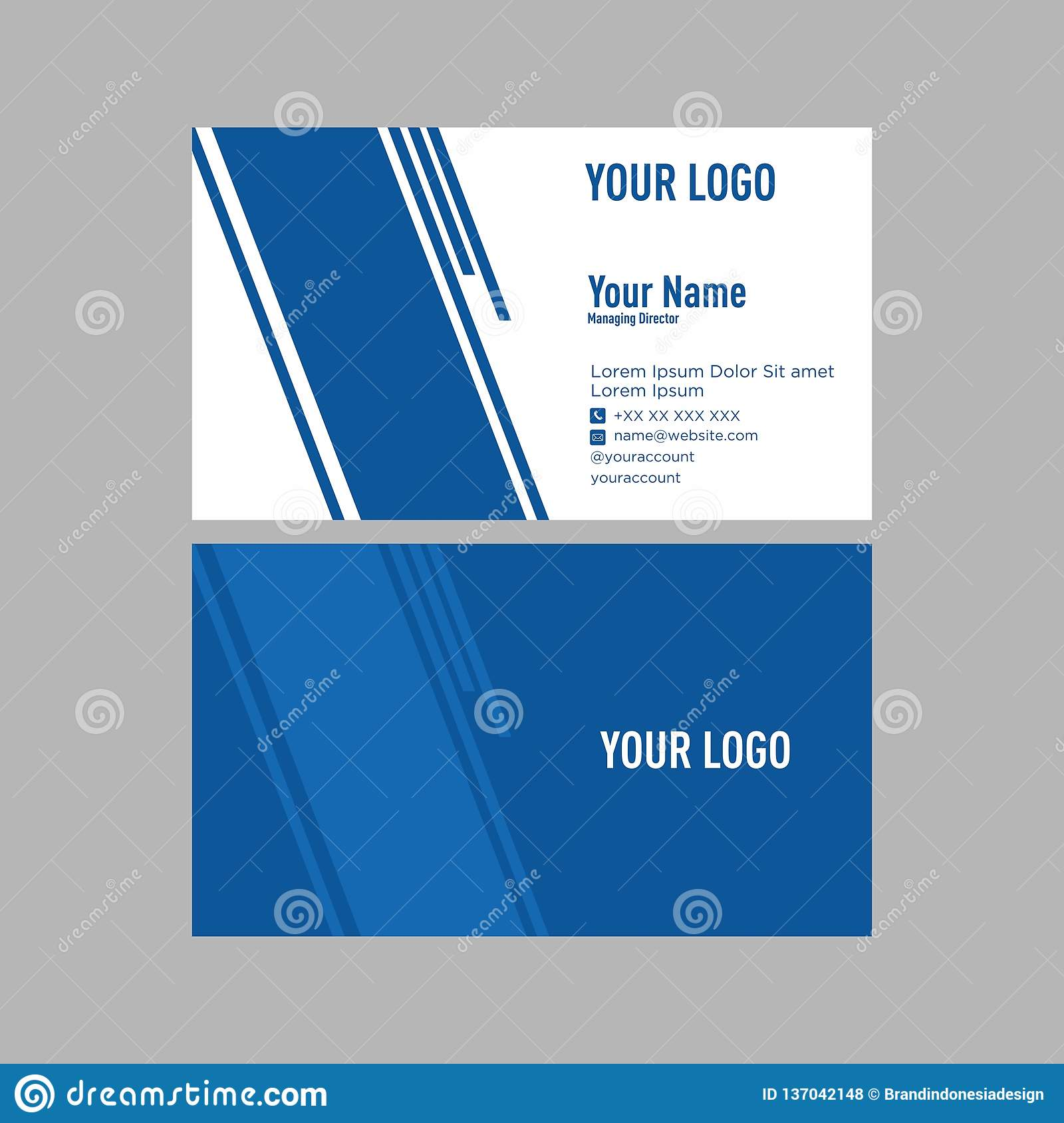 Awesome Business Card Tamplate Design For You Only Change Names Addresses Contacts Etc