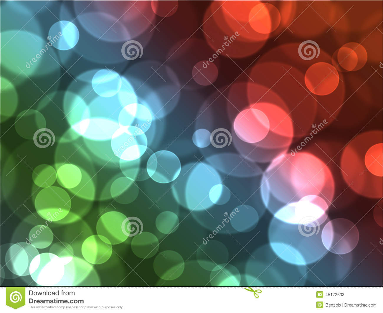 awesome colourful bubble bokeh abstract art background stock image