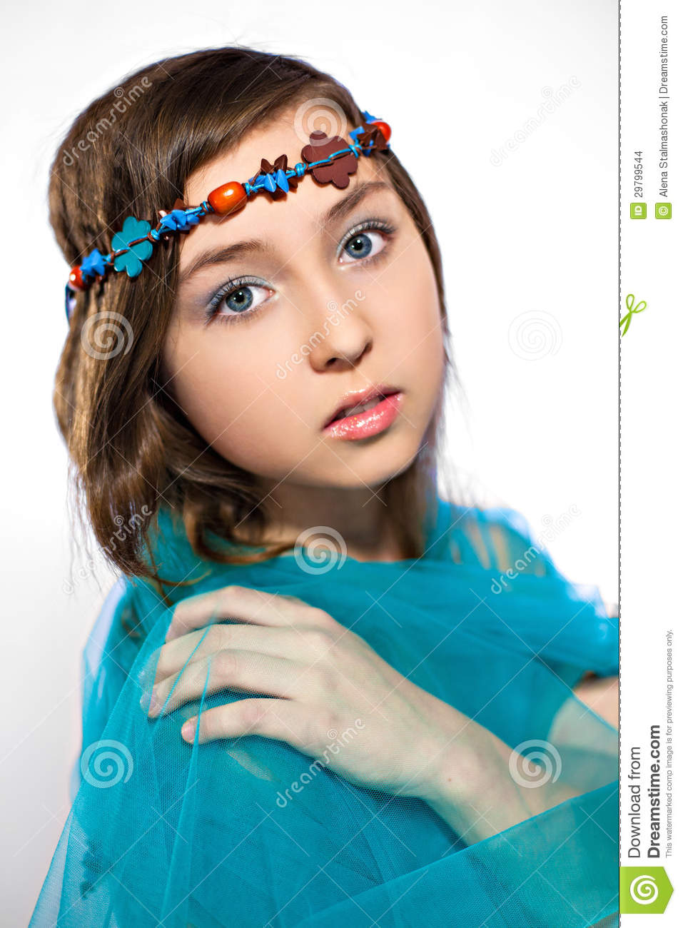 Awesome Nymph Stock Photo. Image Of Person, Sensuality