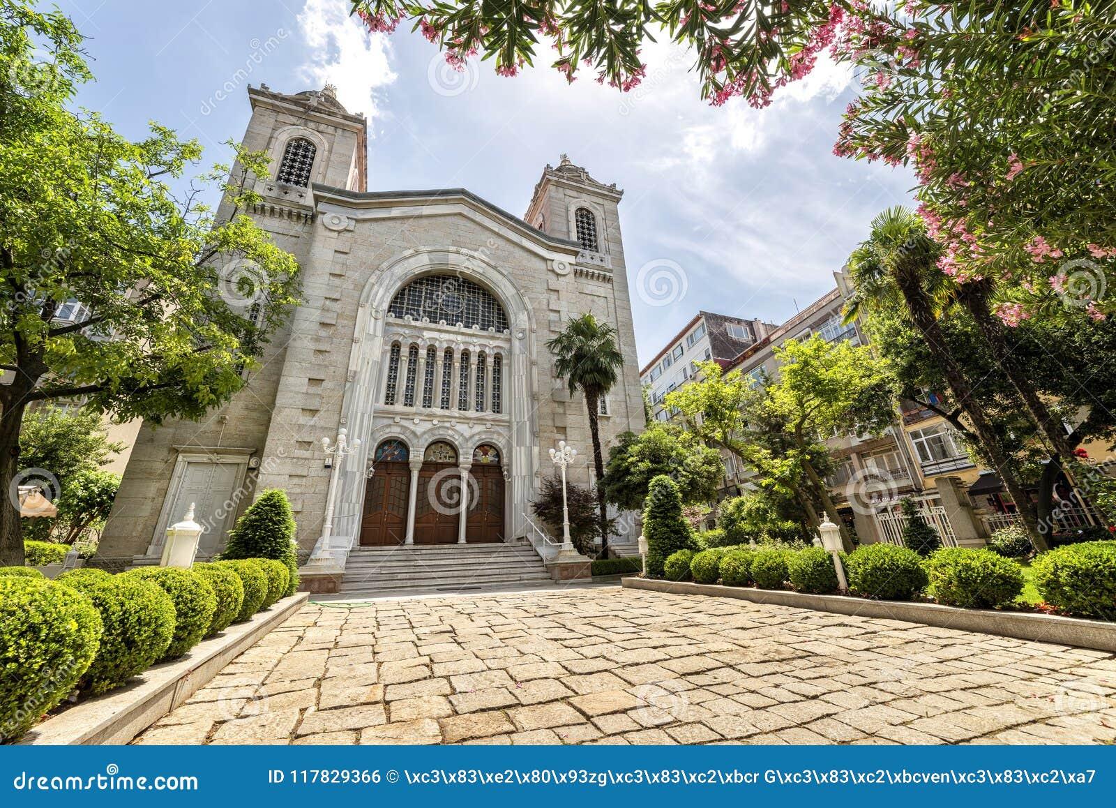 Aya Triada Greek Orthodox Church, Estambul, Turquía