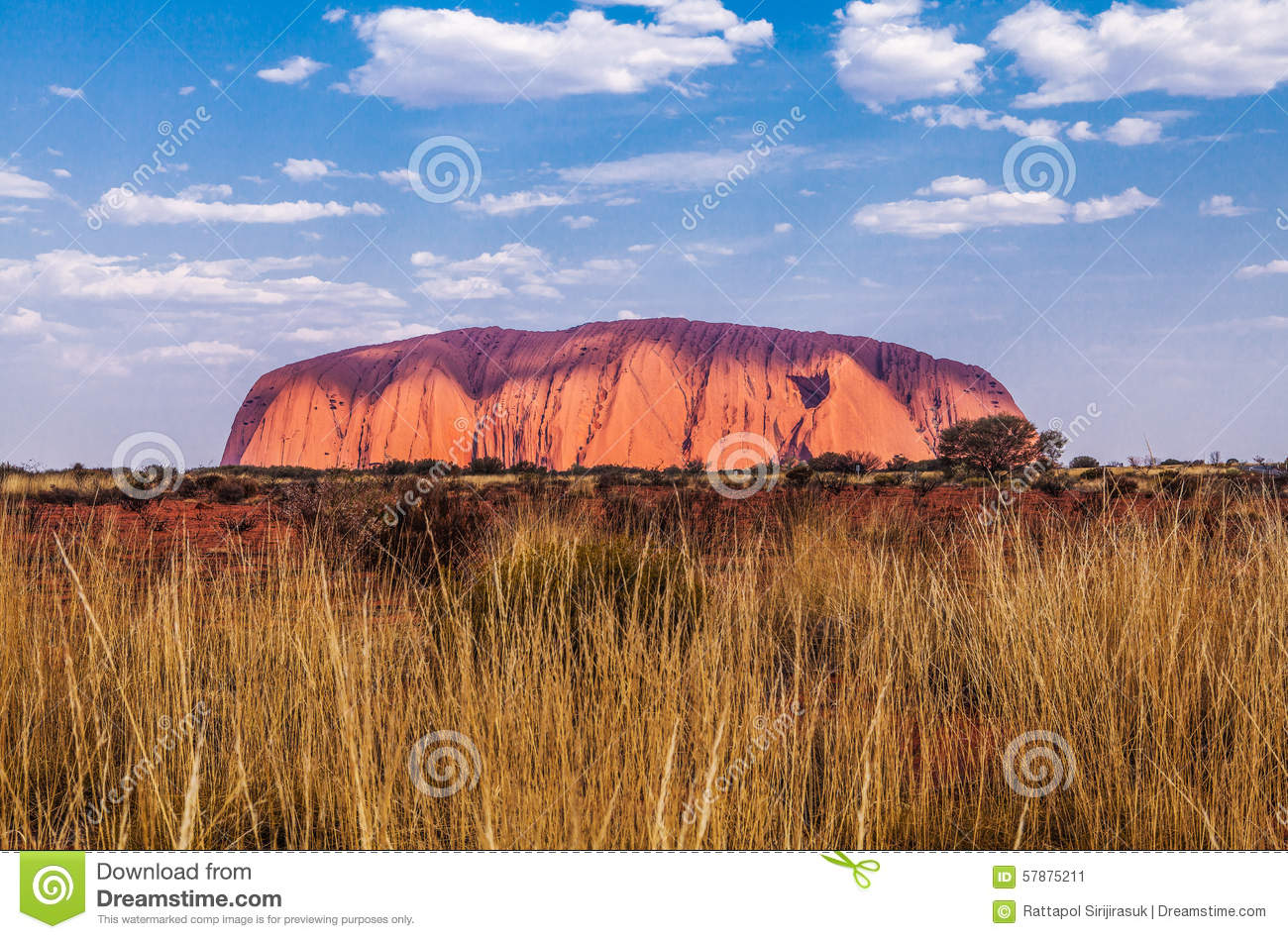 Ayers Rock Editorial Photo Image 57875211