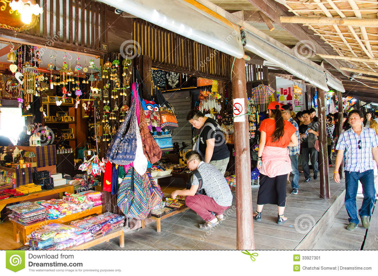 Ayothaya floating market editorial photo image 33927301 for Ayutthaya thai cuisine bar