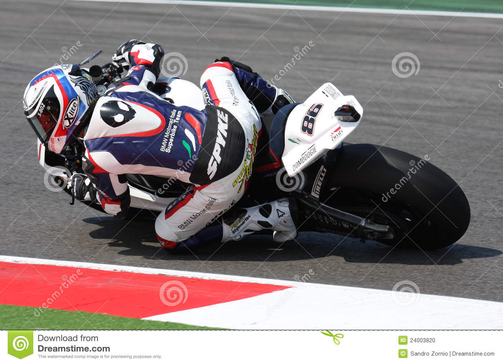 Ayrton Badovini BMW S1000 RR - BMW Motorrad