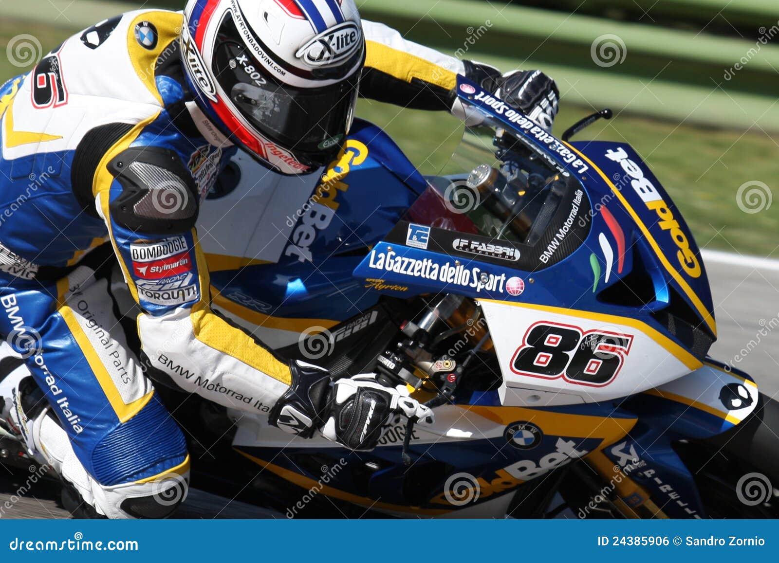 Ayrton Badovini BMW S1000 RR - BMW Motorsport