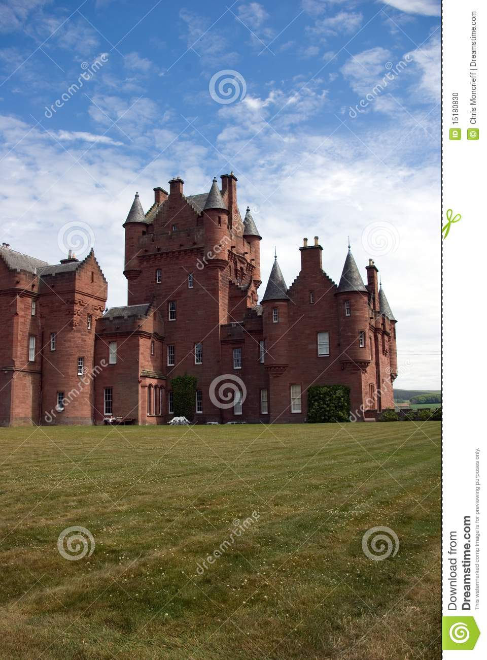Ayton Castle Stock Photo Image Of King Defence Historic 15180830