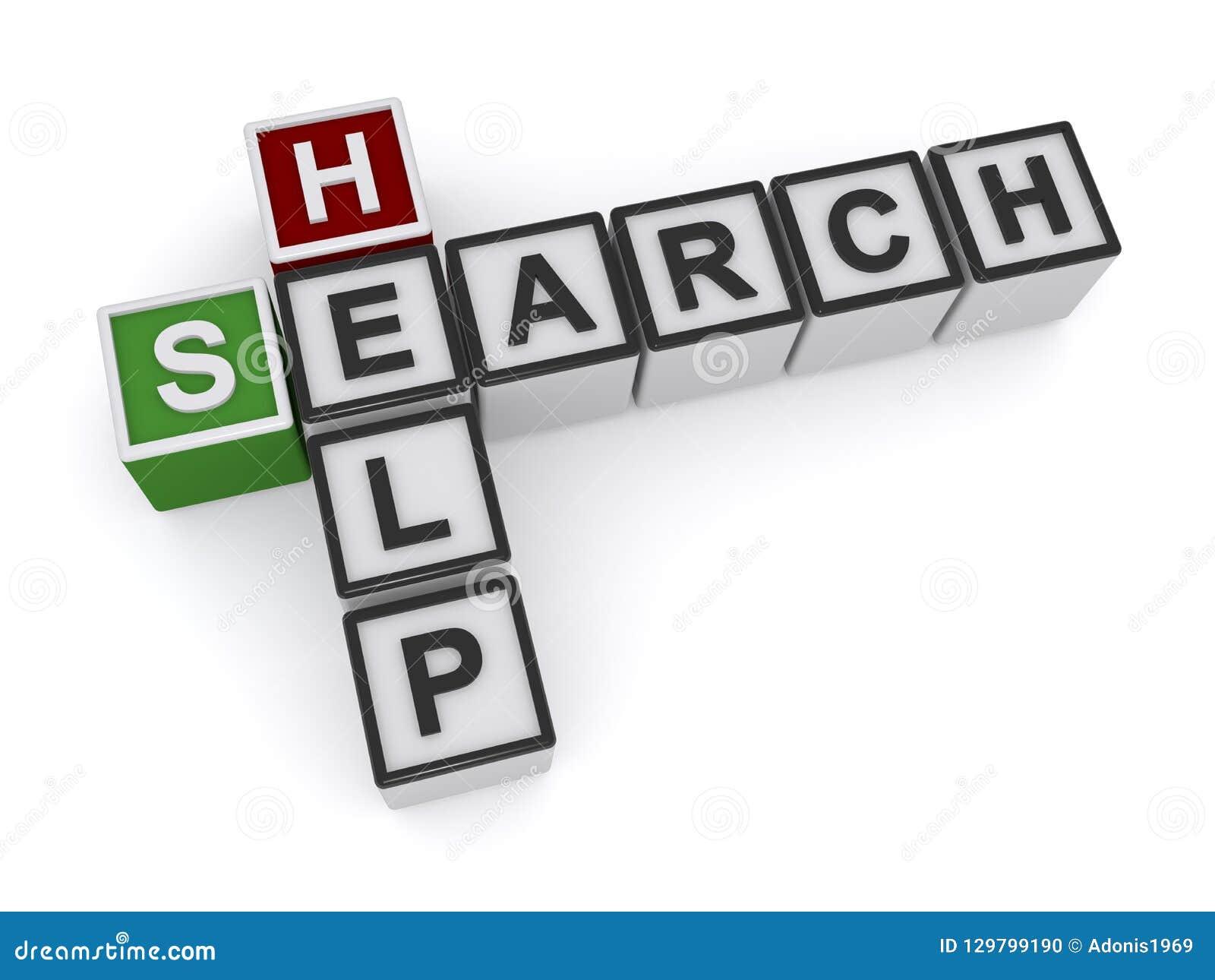 Ayuda de la búsqueda