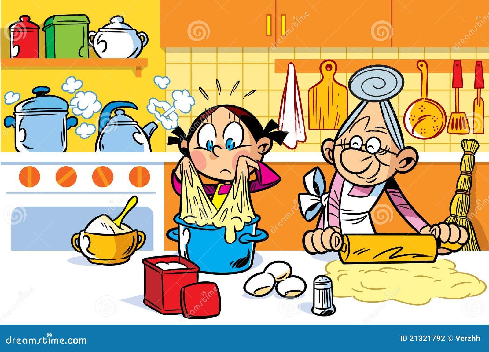 Ayudante de la abuela