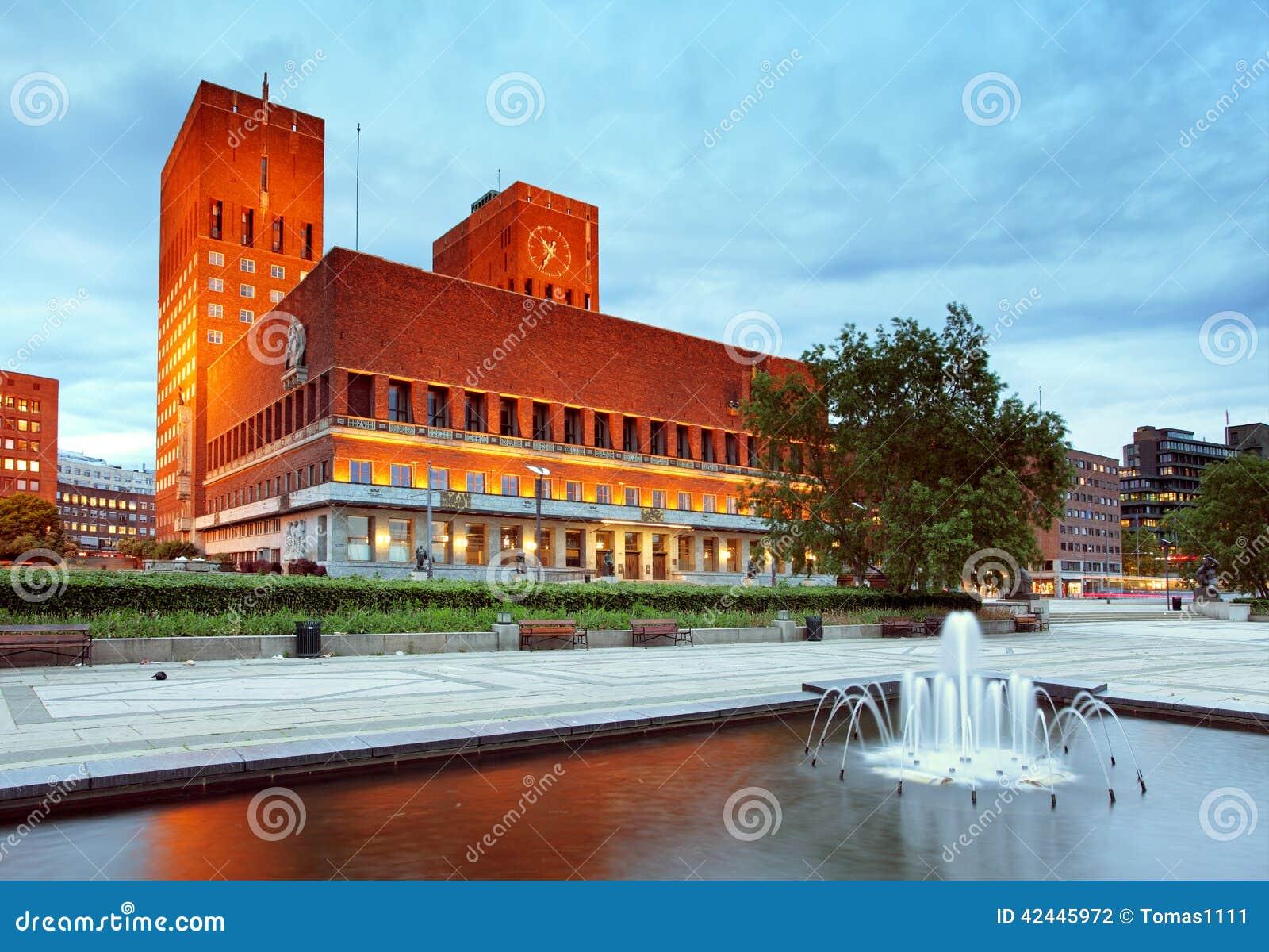 Ayuntamiento, Noruega Oslo