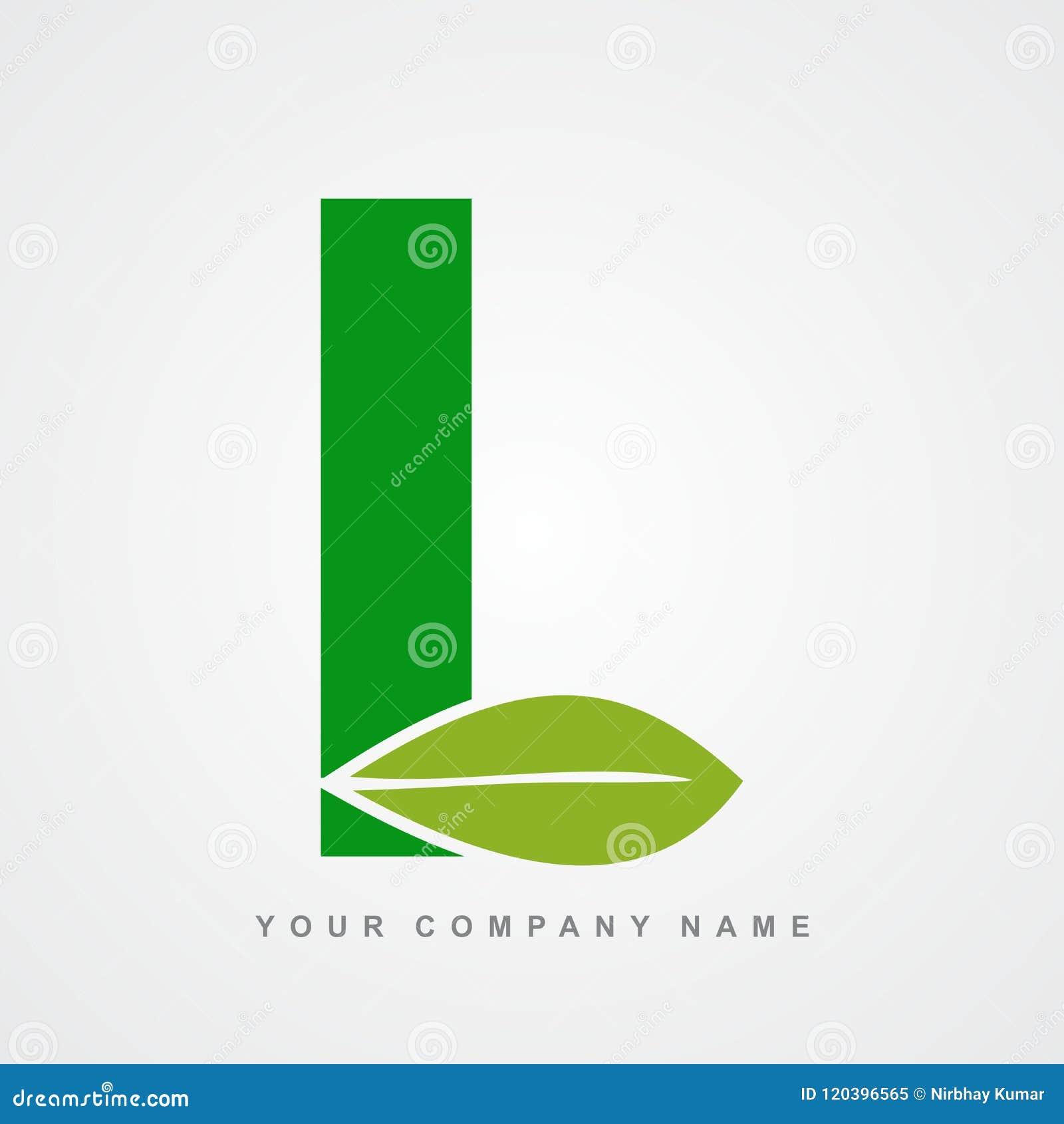 Ayurveda , Environment Or Organic Logo Letter L Stock Vector ...