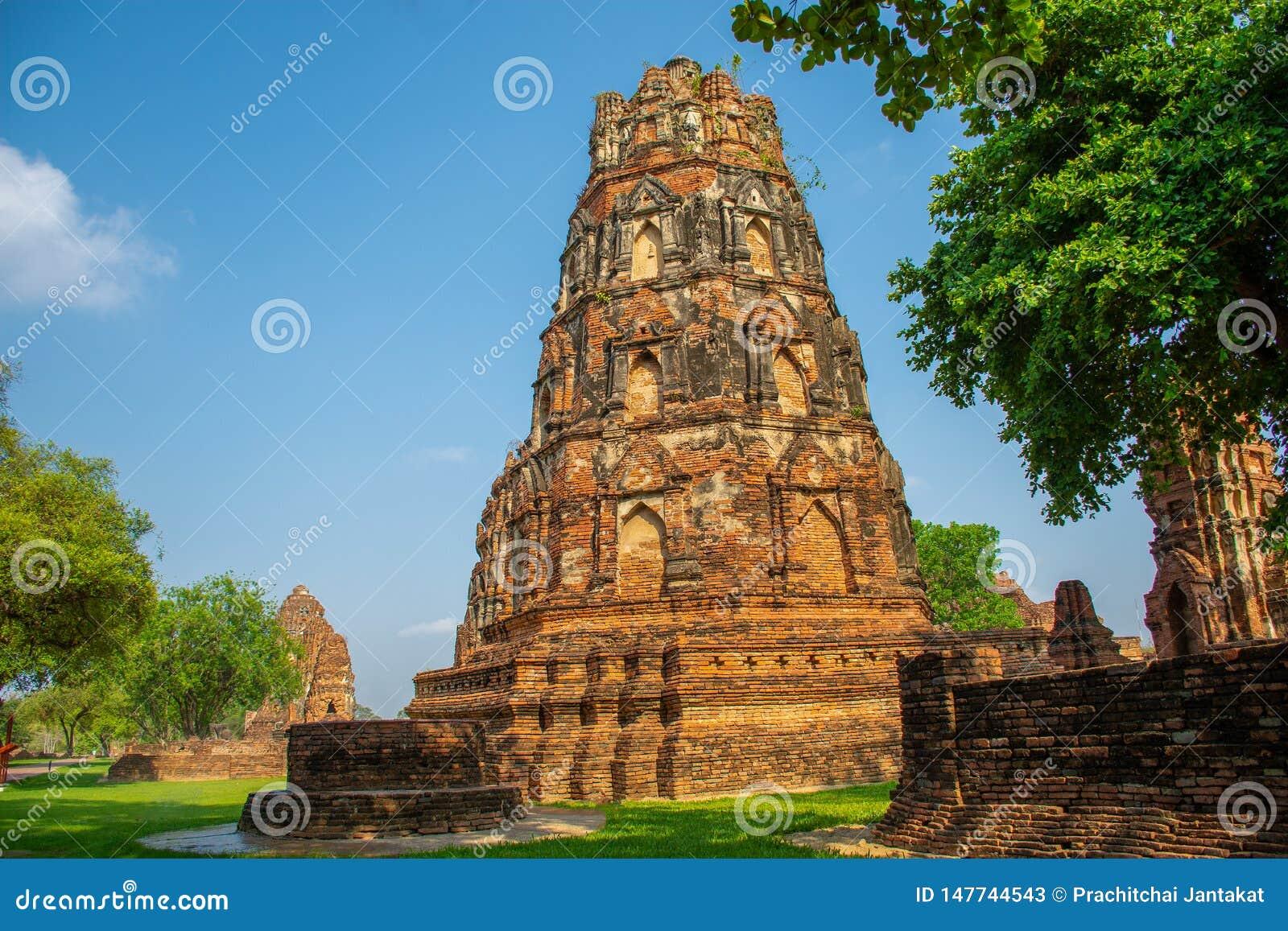 Ayutthaya, de oude stad van Thailan