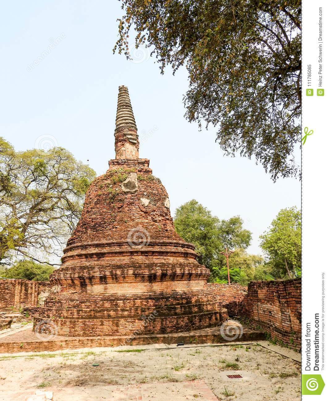 Ayutthaya former capital of the Kingdom of Siam