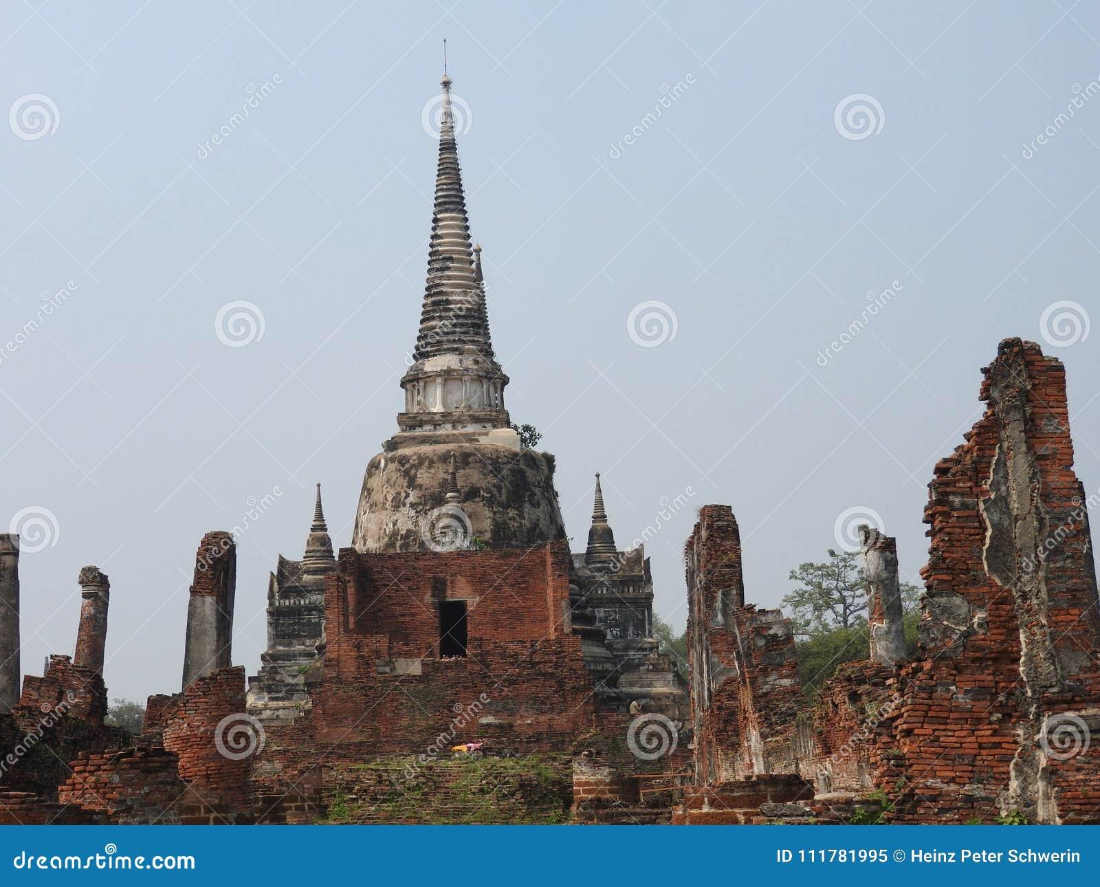 Ayutthaya capital of the Kingdom of Siam