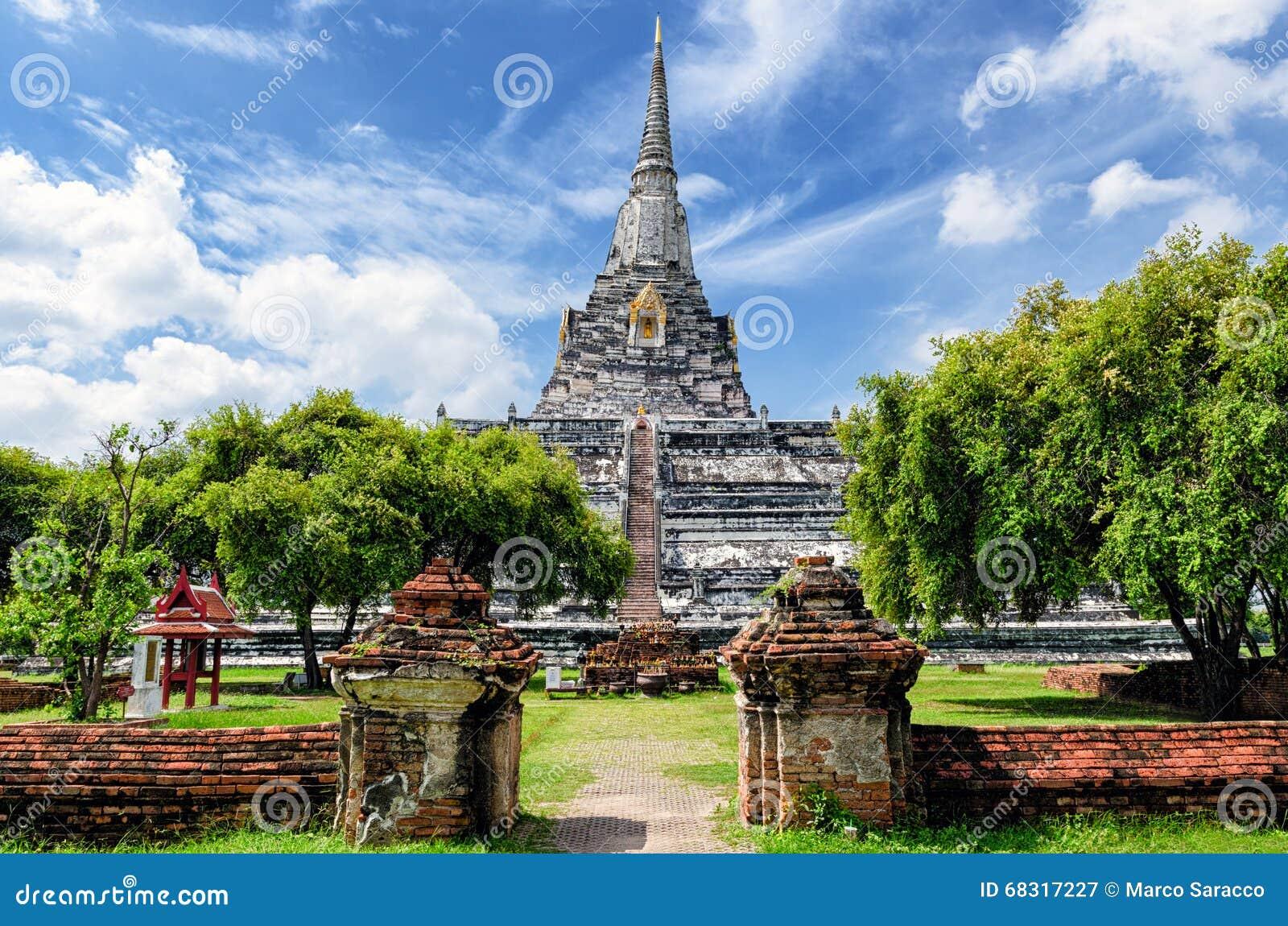 Ayutthaya (Tailandia) Wat Phu Khao Thong