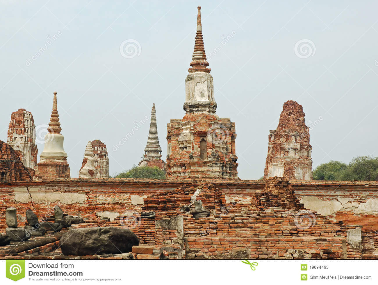 Ayutthaya - Wat Phra Sri Sanphet - Thailand
