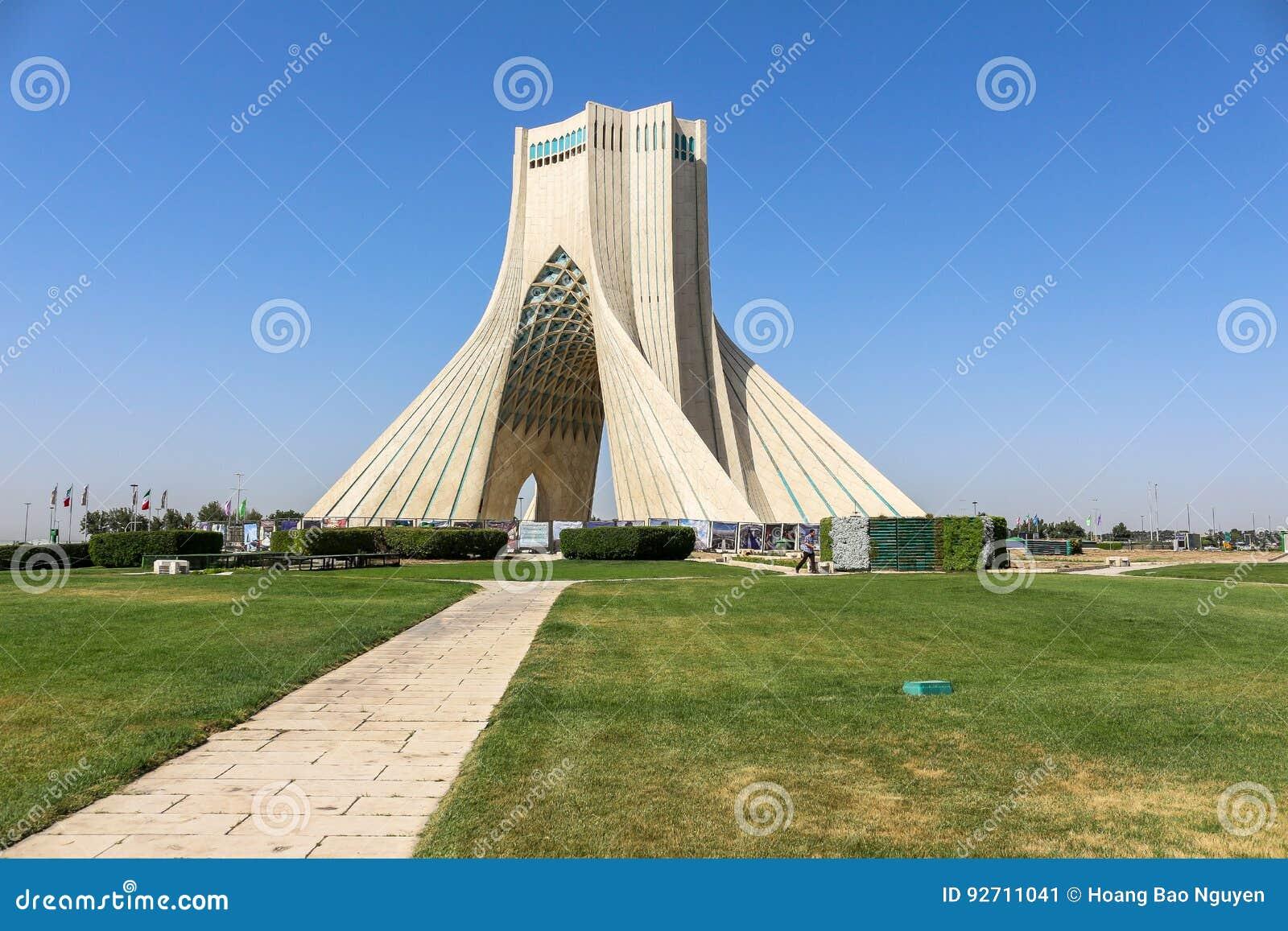 Azadi torn i Teheran, Iran