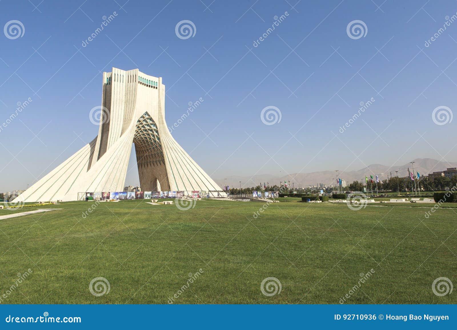 Azadi wierza w Teheran, Iran