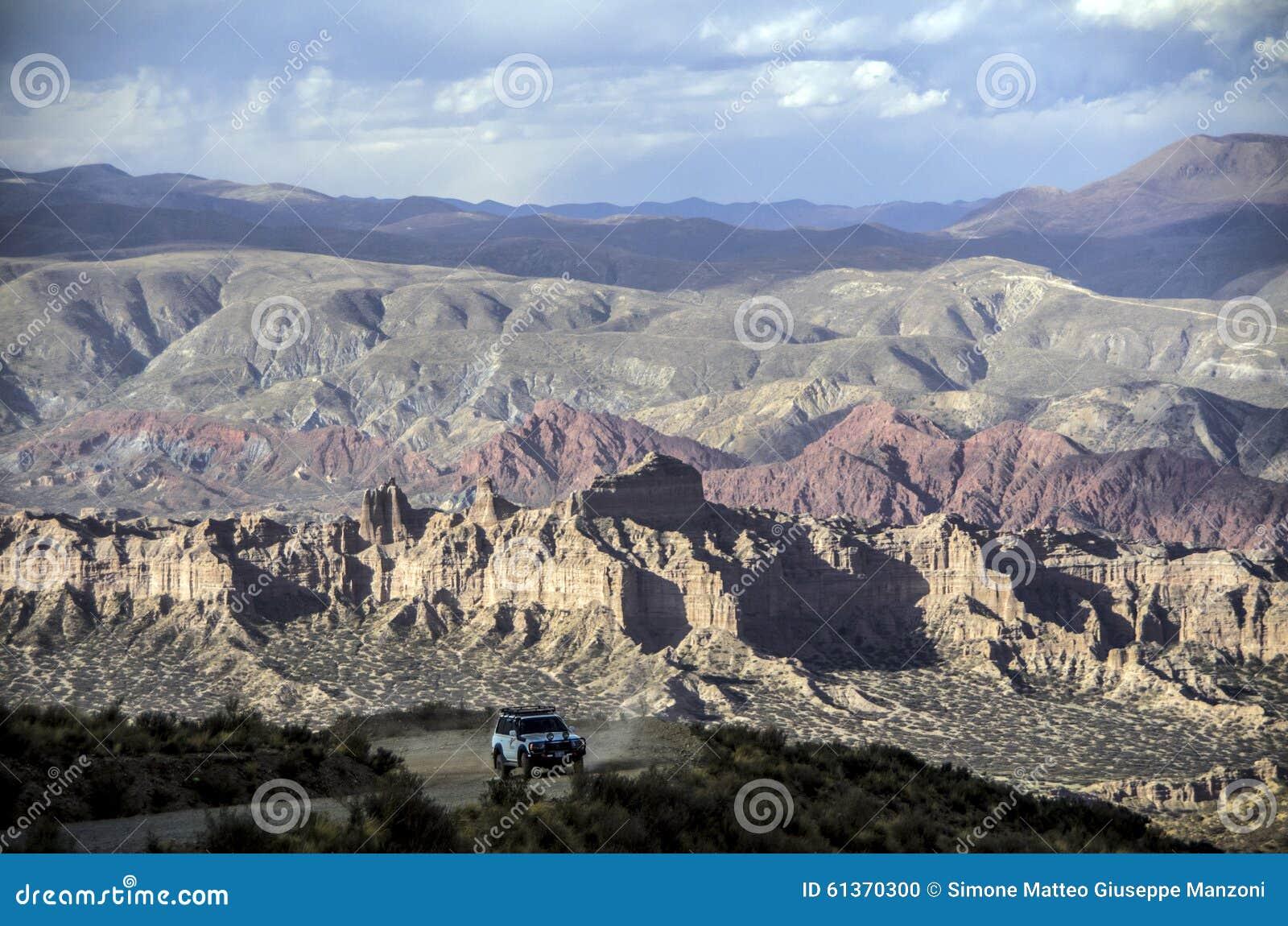 Azarento perto de Tupiza, Bolívia