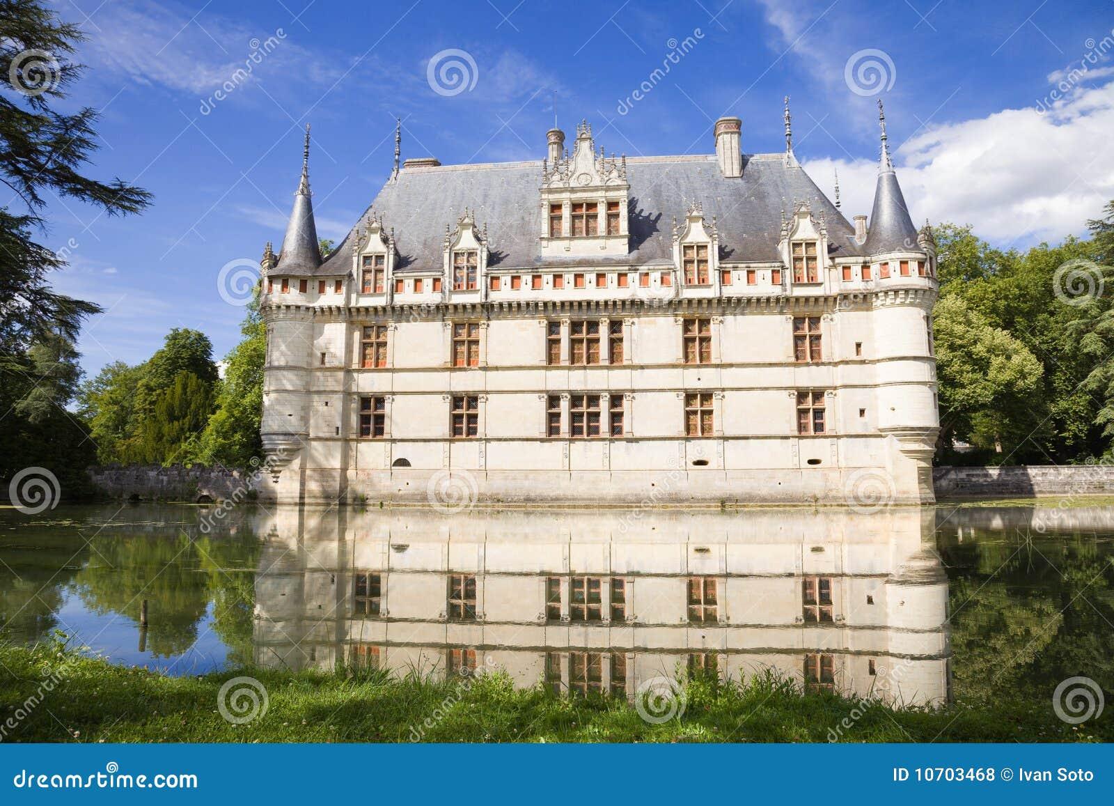 azay le rideau chateau france royalty free stock photos image 10703468. Black Bedroom Furniture Sets. Home Design Ideas