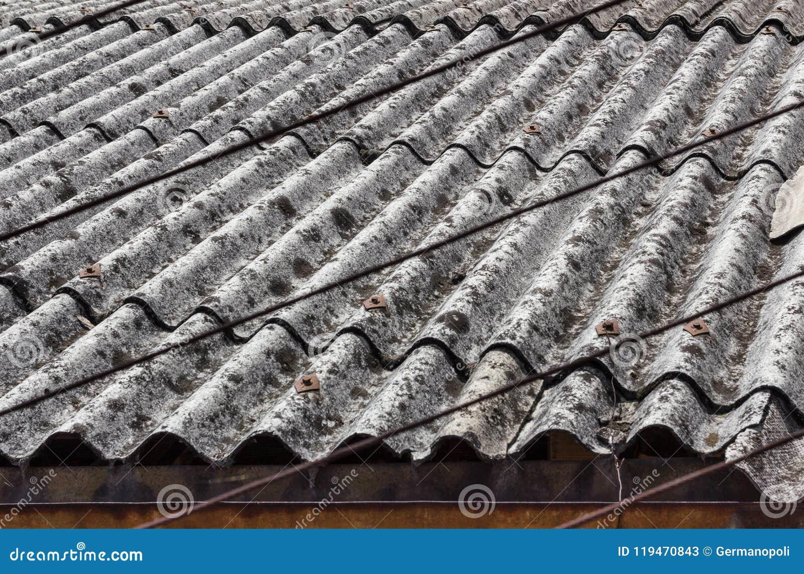 Azbesta dach