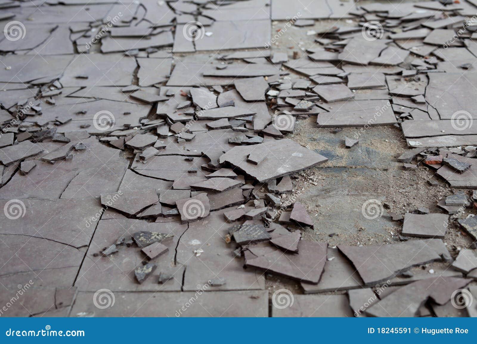 Azbestowe płytki