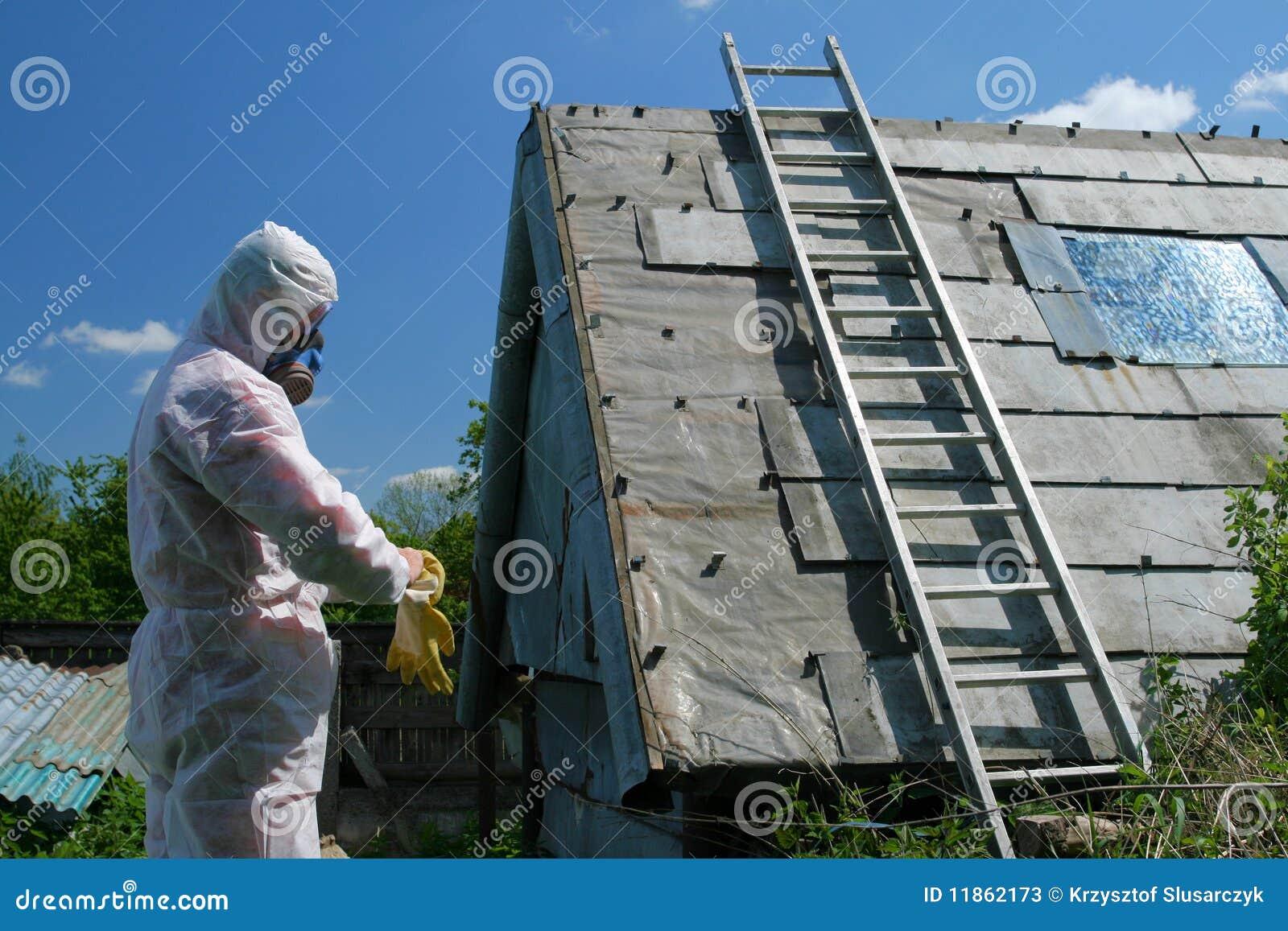 Azbestowy usuwanie