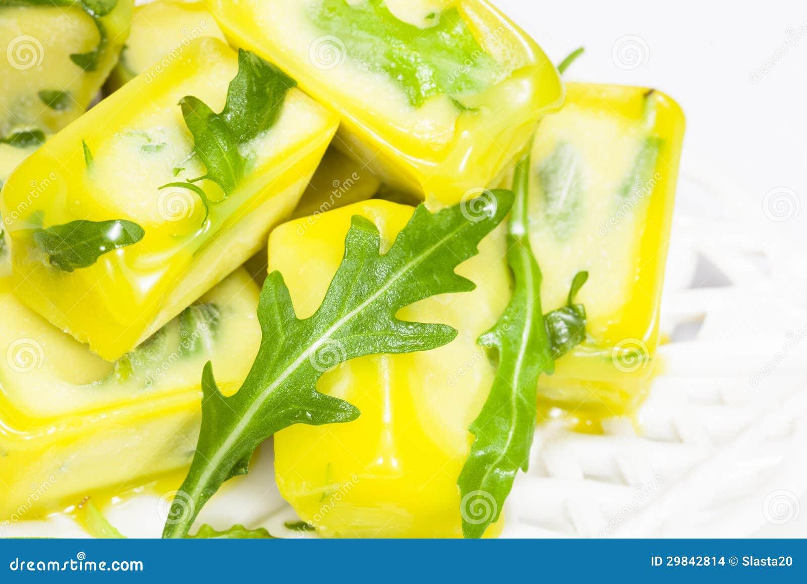Ervas preservadas para cozinhar