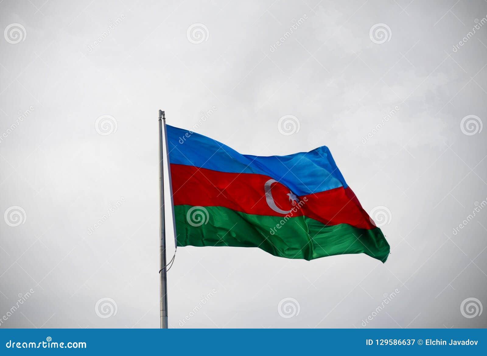Azerbejdżan flaga państowowa
