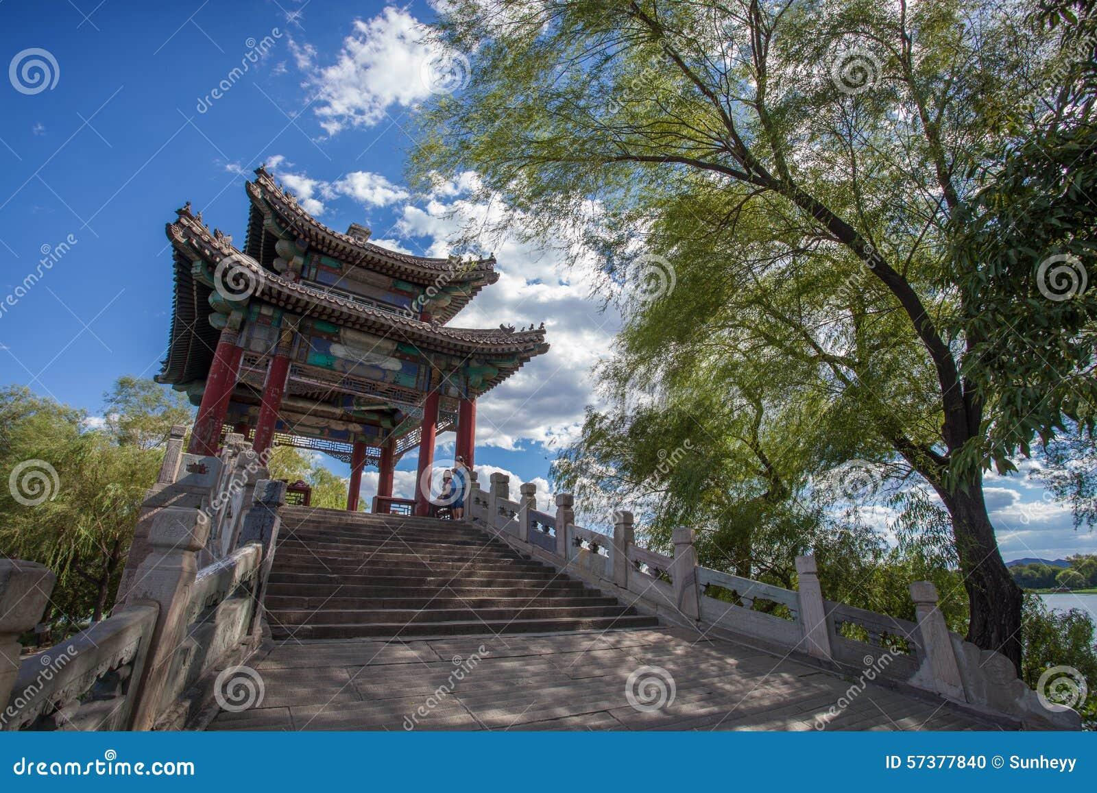 Azië China, Peking, Oud de Zomerpaleis