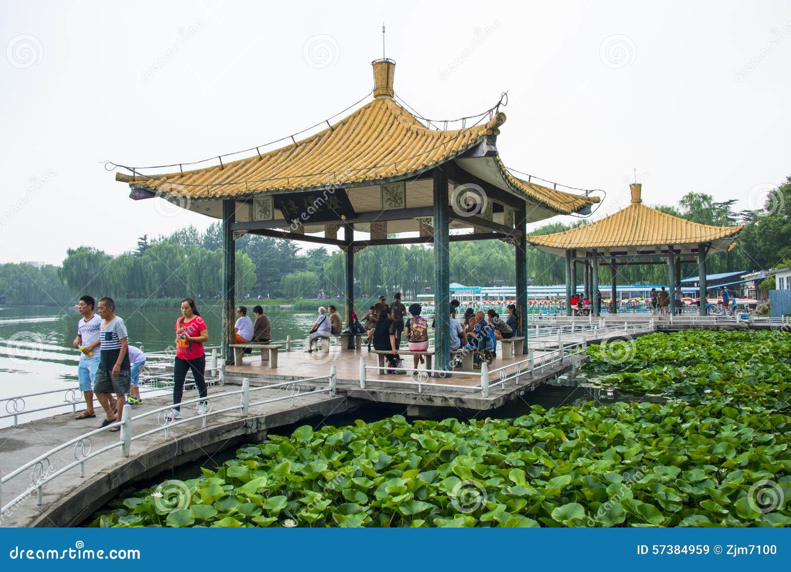 Azië China, Peking, Taoranting-Parkï Paviljoen ¼ ŒDouble