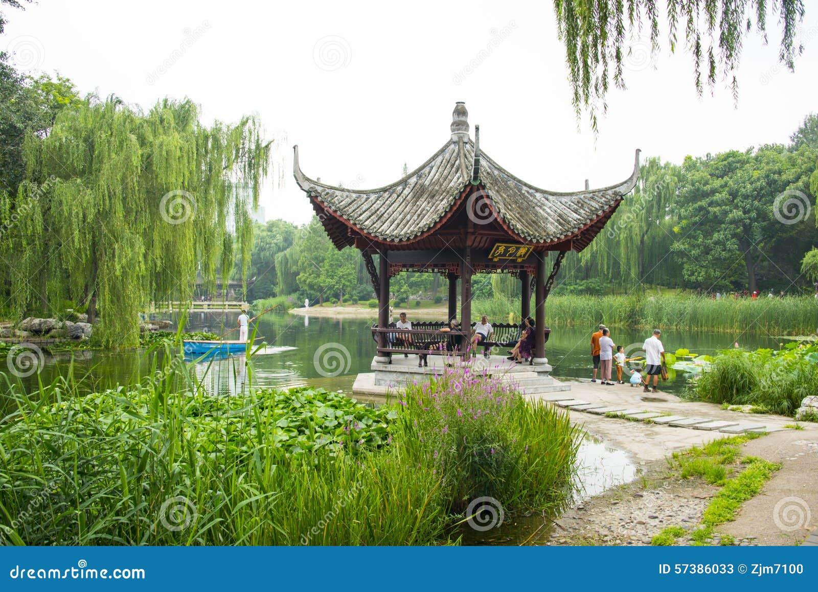 Azië China, Peking, Taoranting-Parkï paviljoen ¼ ŒThe,