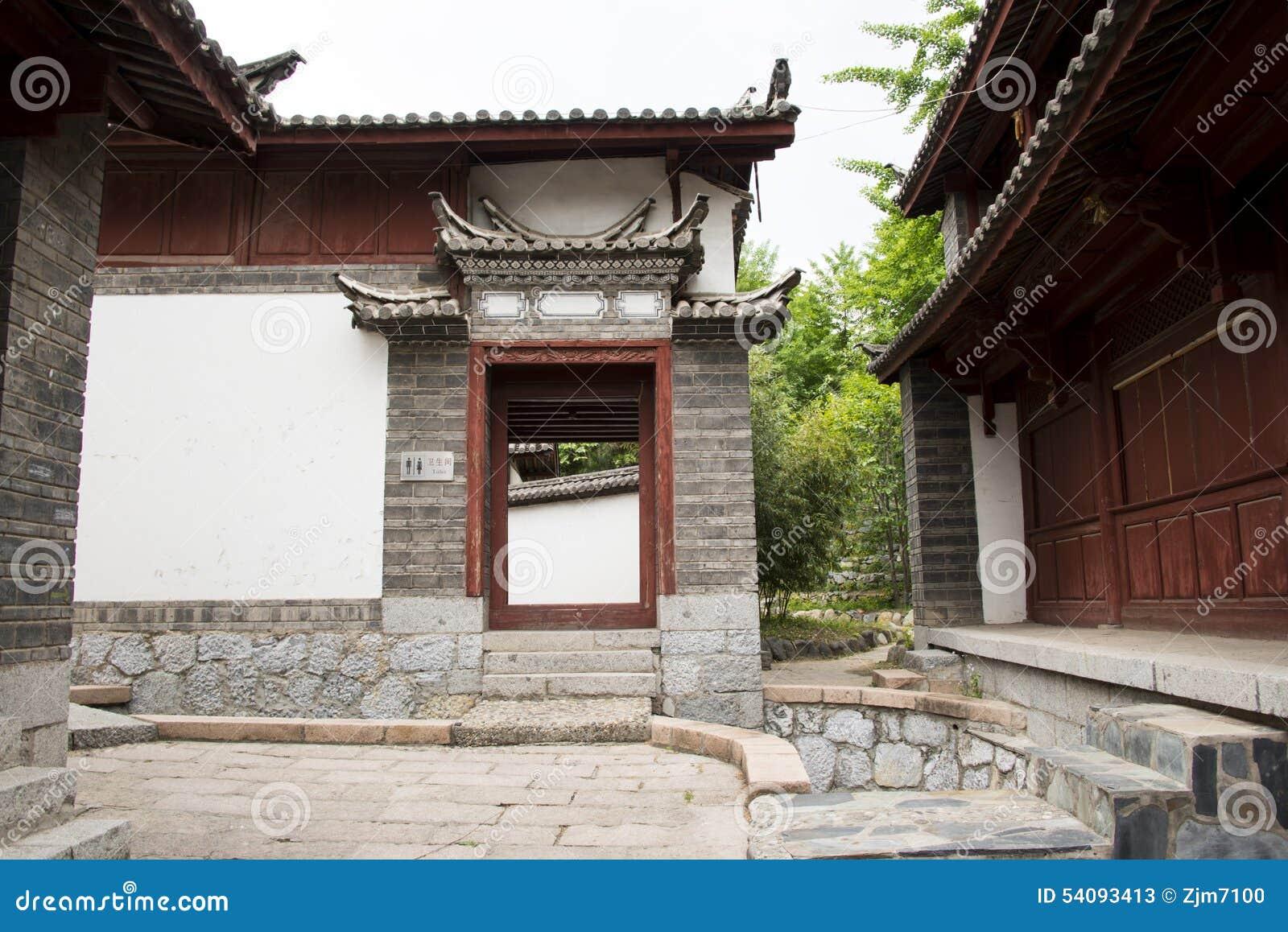 Azië Chinees, de Yuans van Peking, China Minzu, Naxi minorityï ¼ ŒResidence