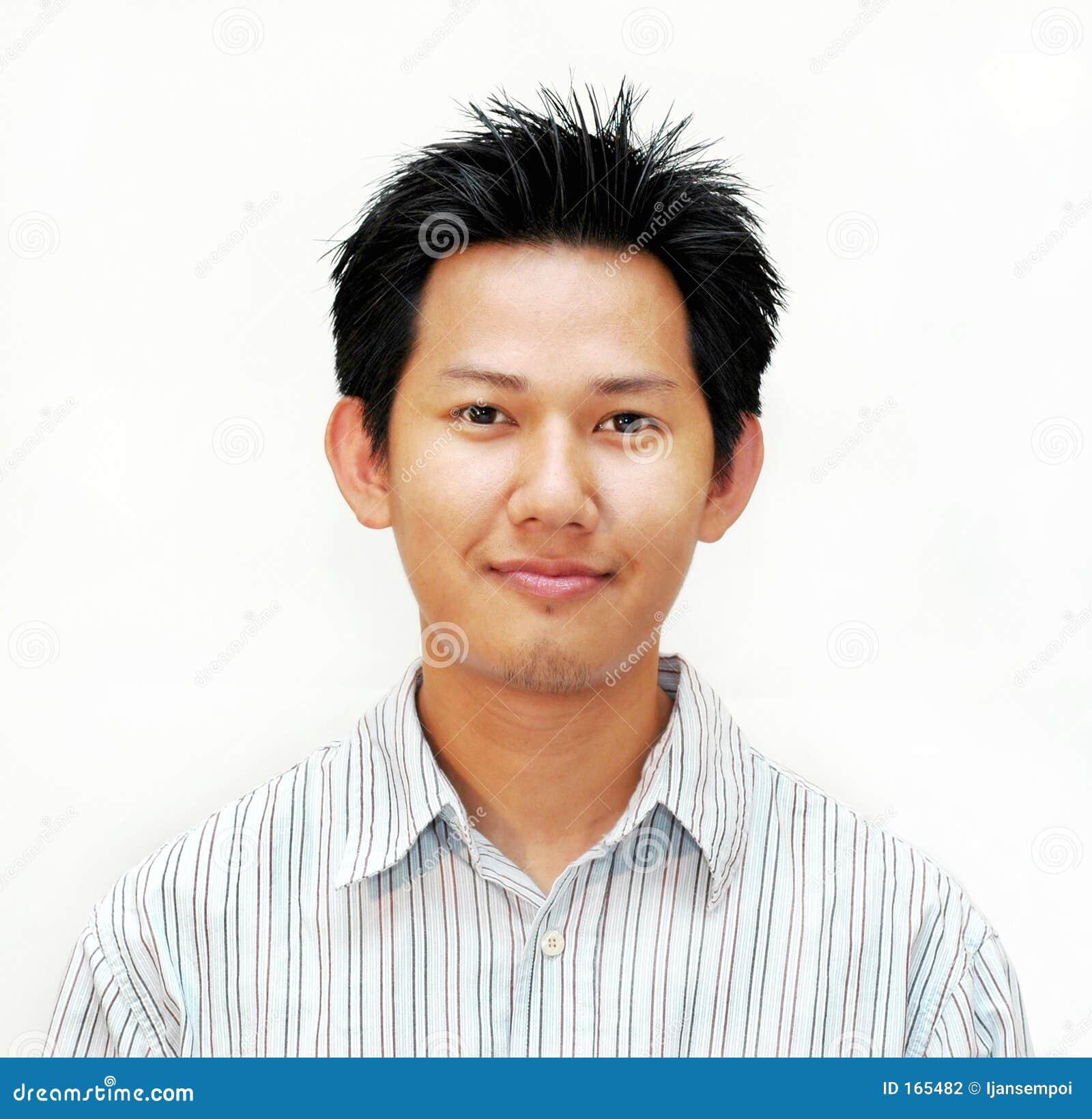 Aziatisch mannelijk portret