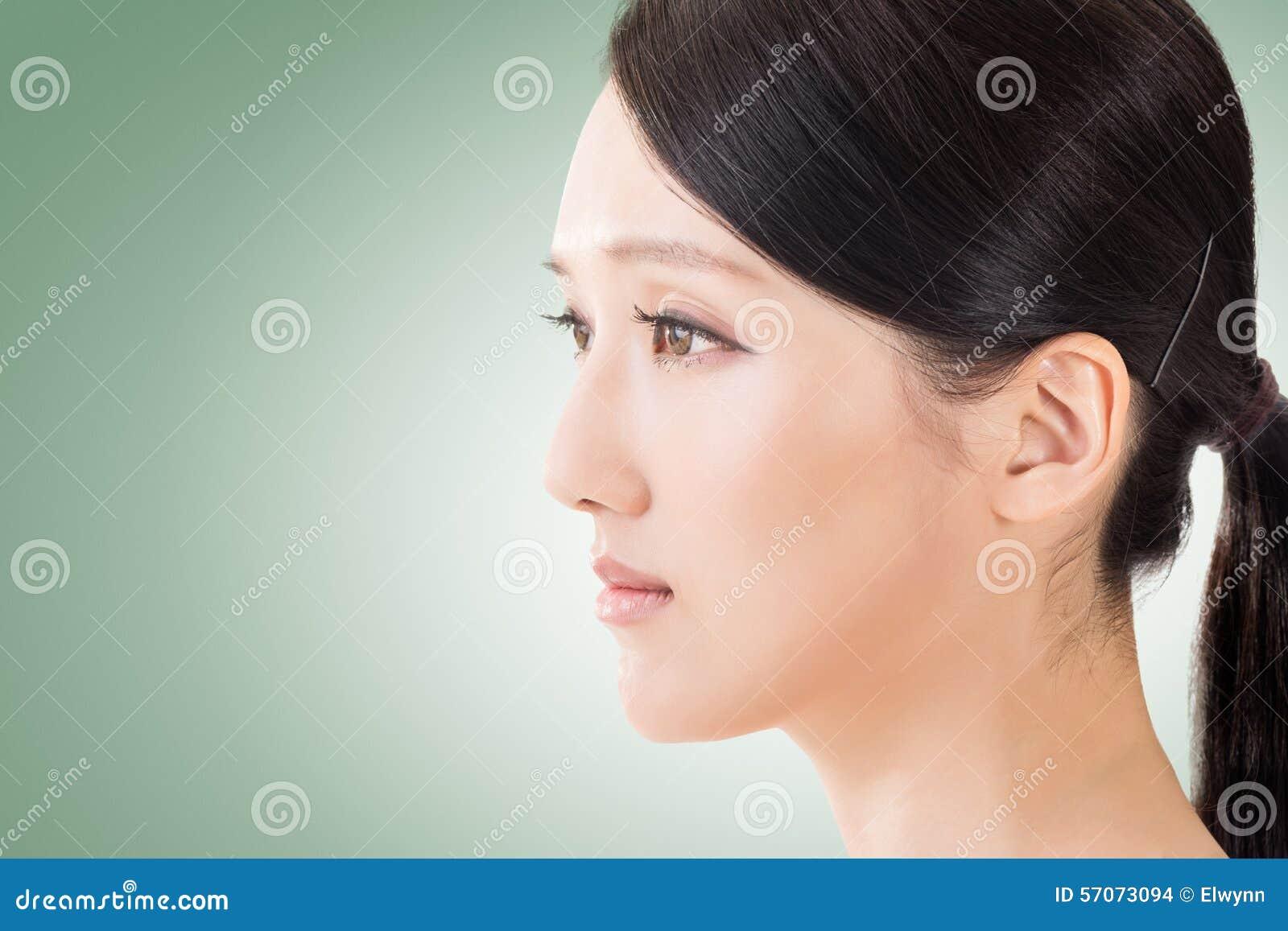 Aziatisch schoonheidsgezicht