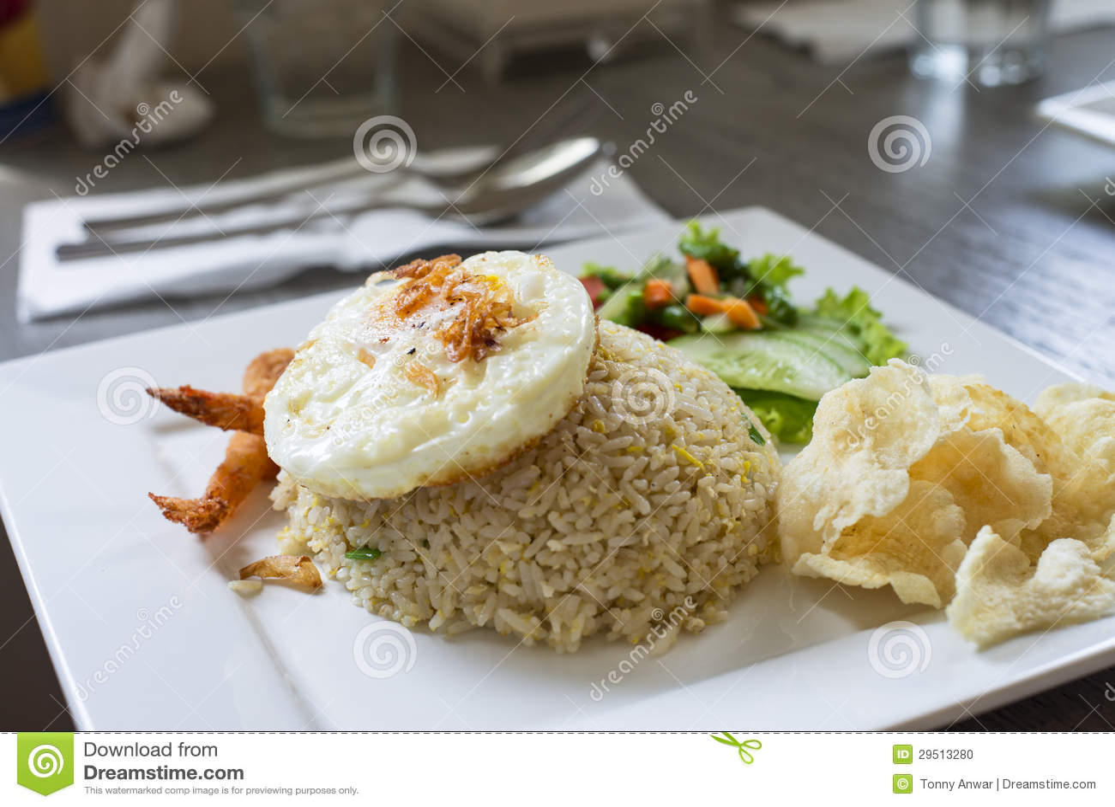 Aziatische Gebraden Rijst