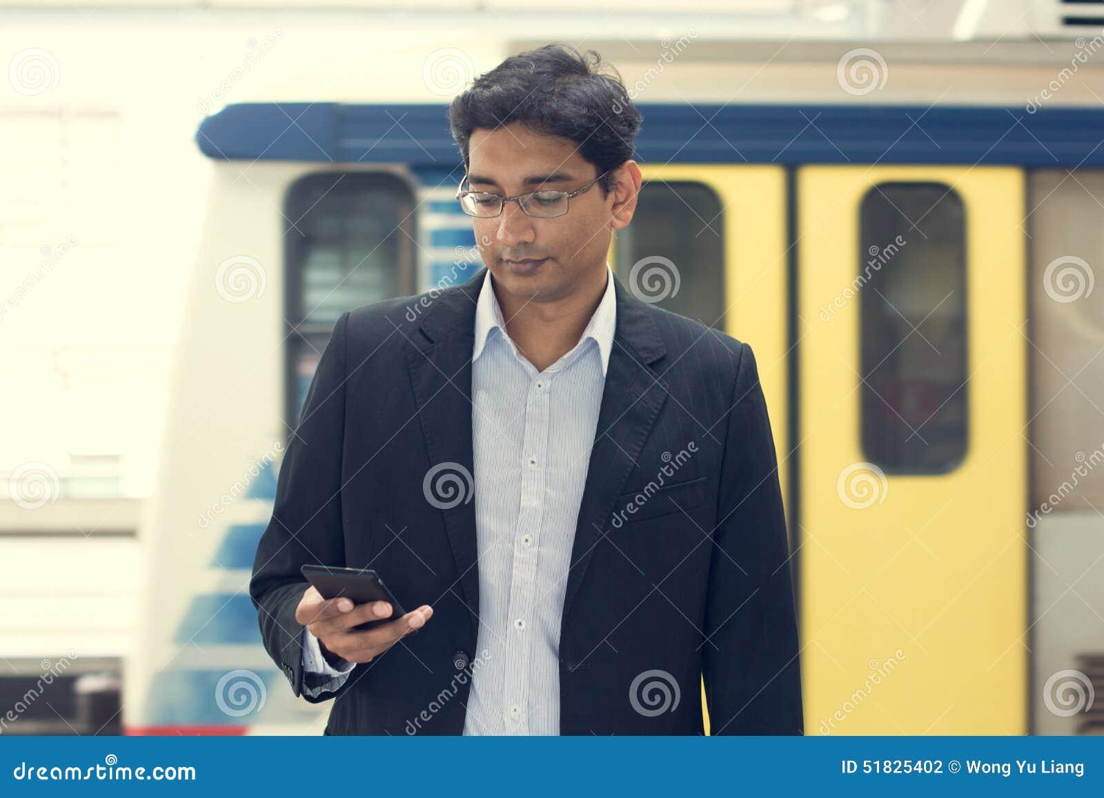 Aziatische Indische zakenman