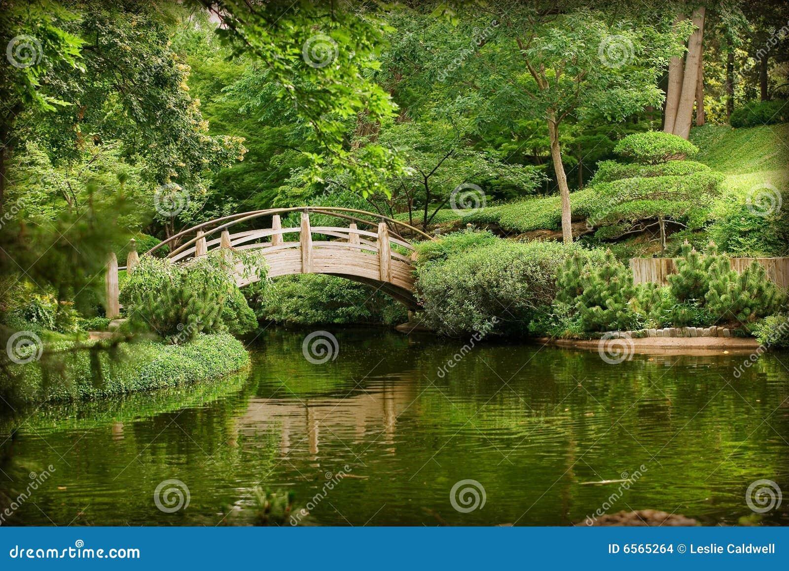 Aziatische tuinen stock foto afbeelding bestaande uit for Aspersor de agua para jardin